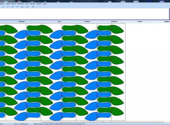 Oprogramowanie do robienia układów kroju - spody, podpodeszwy, podeszwy MiriSys POLSKA