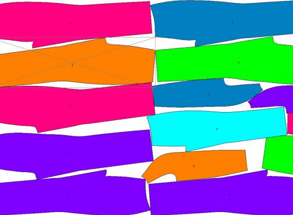 Algorytm do auto układania elementów odzieży na tkaninach MiriSys POLSKA